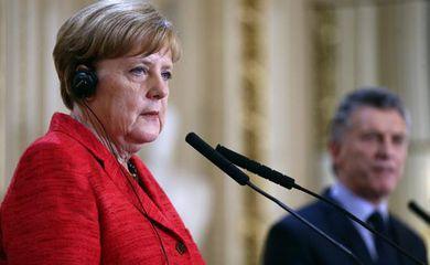 Segundo Angela Merkel, da perspectiva da UE, há bons motivos para concluir um acordo com o Mercosul