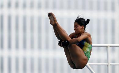 Ingrid Oliveira. Trofeu Brasil de Saltos Ornamentais, realizado no Parque Aquatico Julio de Lamare. 04 de Abril de 2018,