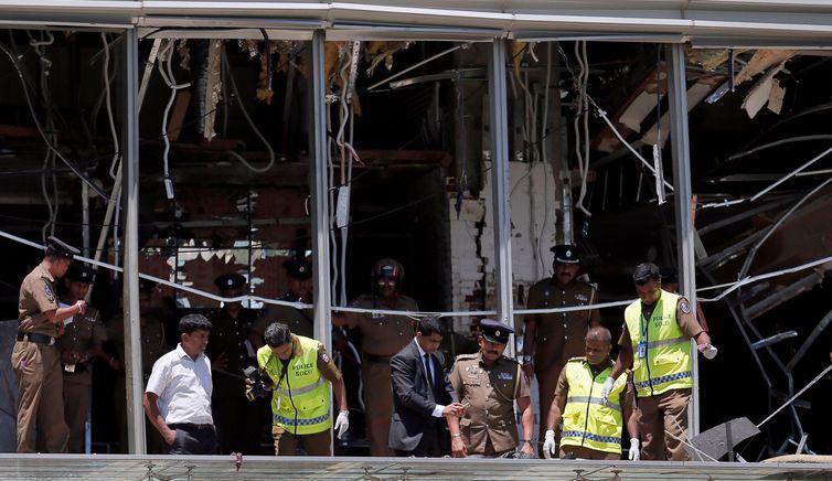 Sri Lanka, Explosão, Igreja