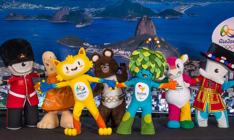 mascotes dos Jogos Olímpicos