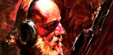 Aldir Blanc - Capa do álbum vida noturna
