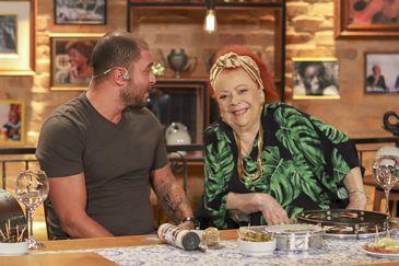 Diogo Nogueira e a madrinha do samba, Beth Carvalho