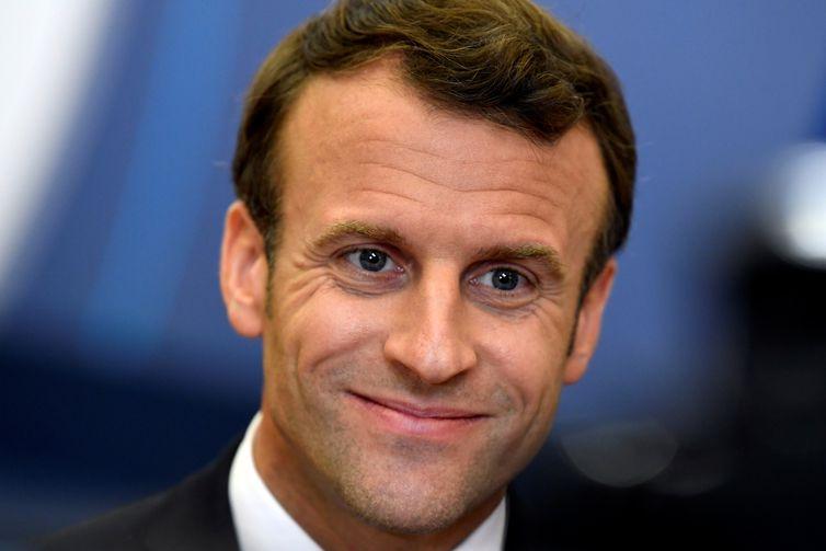 Emmanuel Macrom, França. REUTERS/Piroschka van de Wouw