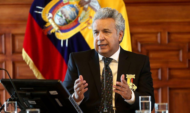 QUITO (ECUADOR) El presidente de Ecuador, Lenín Moreno. EFE/José Jácome