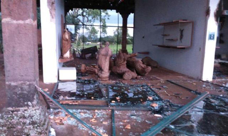 O Museu de São Miguel das Missões foi destruído pelo tornado