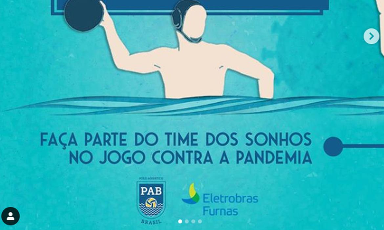 campanha solidária da Liga de Polo Aquático