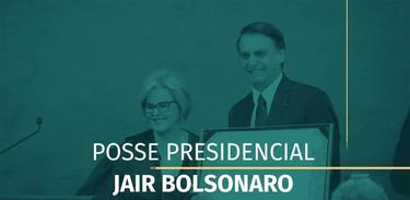 Acompanhe ao vivo a posse do presidente Jair Bolsonaro