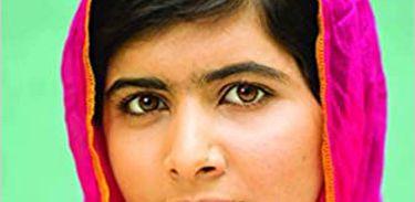 "Capa do livro ""Eu sou Malala"""