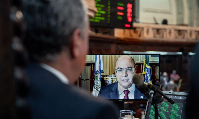 plenário da Alerj; impeachment do Governador Wilson Witzel