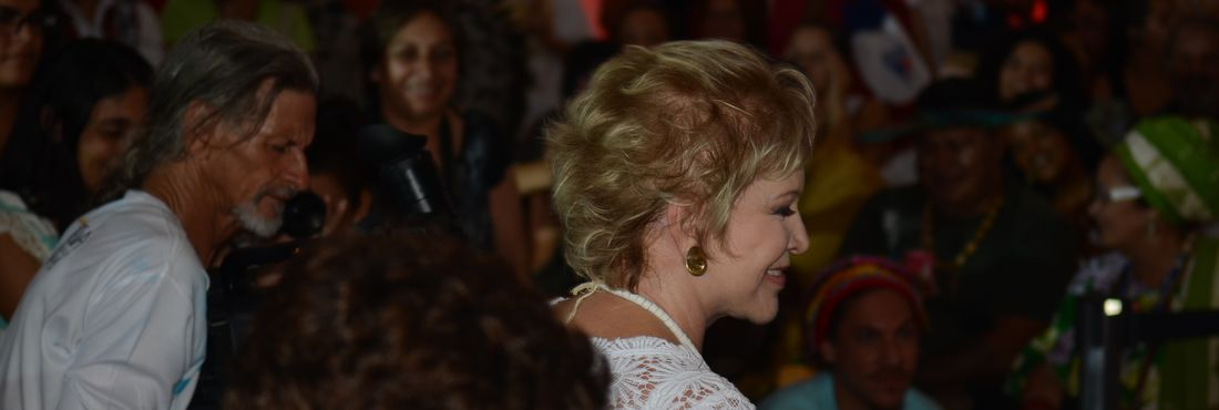 A ministra da Cultura, Marta Suplicy anunciou R$ 9 milhões em editais para Pontos de Cultura