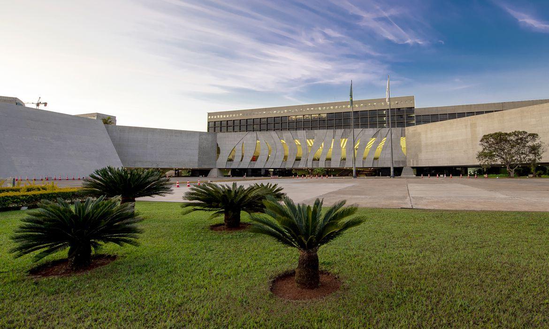 Edifício sede do Superior Tribunal de Justiça STJ