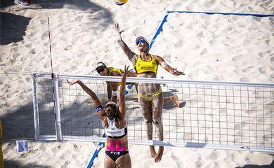 Ágatha e Duda, circuito mundial de vôlei de praia