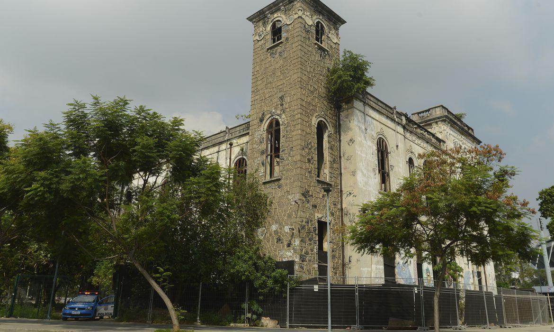 Rio de Janeiro - Prédio do antigo Museu do Índio, ao lado do Maracanã, zona norte da cidade  (Tânia Rêgo/Agência Brasil)