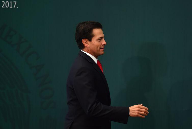 presidente do México, Enrique Peña Nieto (AFP/Direitos Reservados)