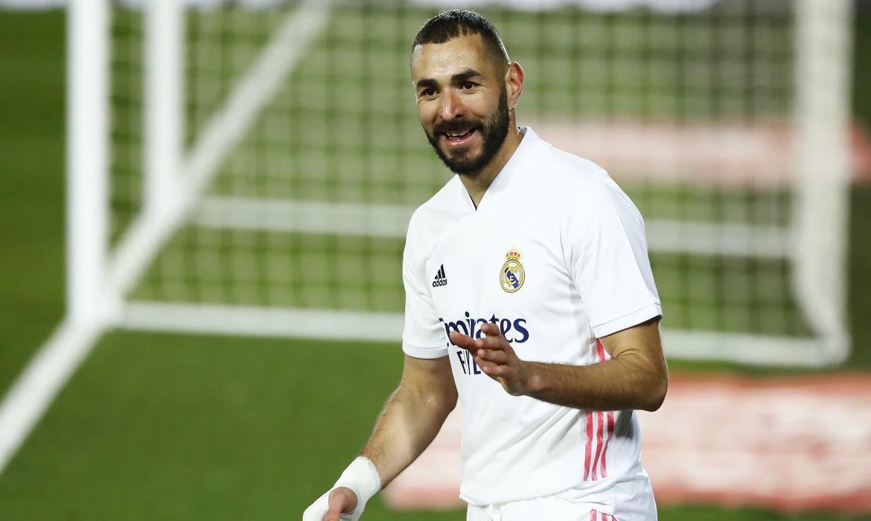 Atacante Karim Benzema, do Real Madrid