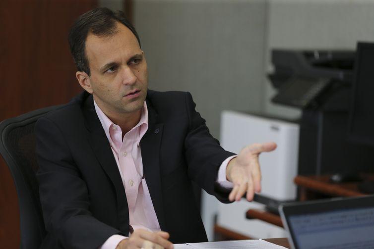 O Secretário de Gestão no Ministério da Economia, Cristiano Rocha Heckert, fala à Agência Brasil