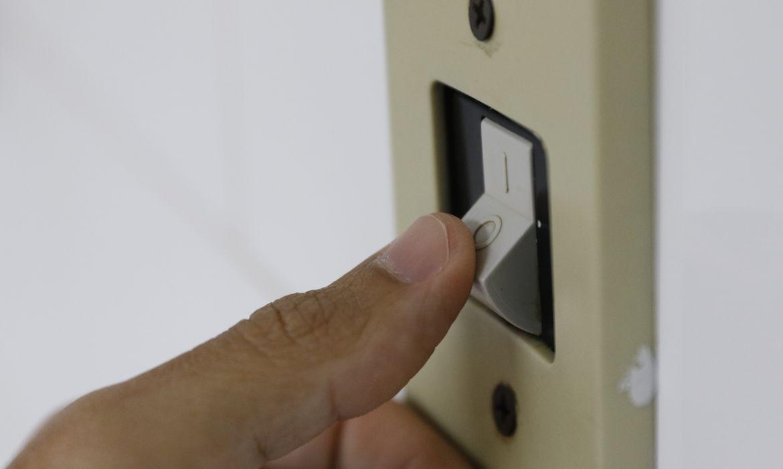 Energia elétrica, luz, interruptor