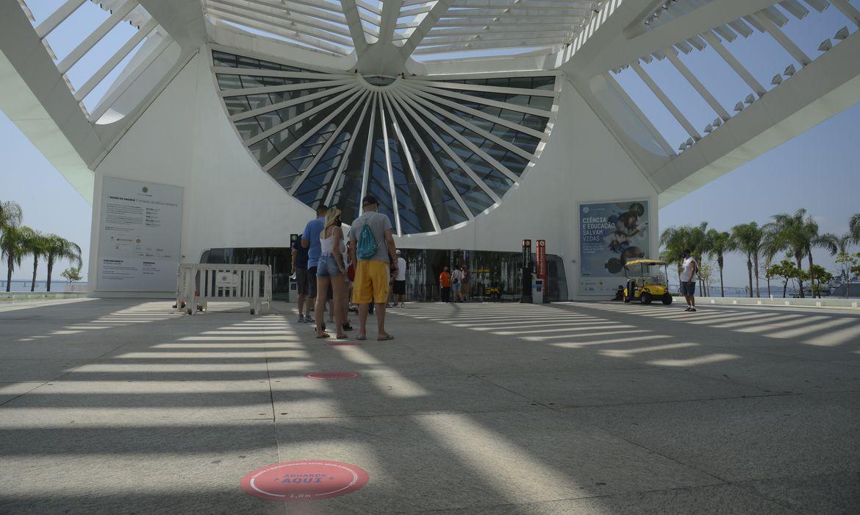 Museu do Amanhã reabre na Praça Mauá