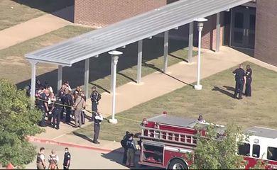 Three hospitalized in Texas school shooting