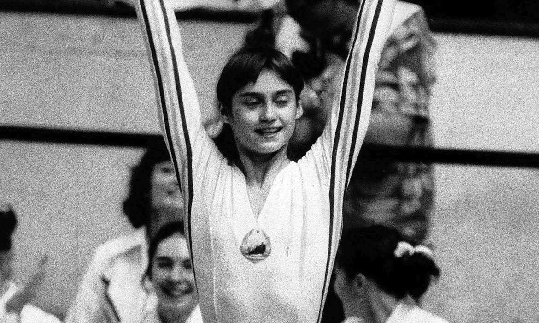 Nadia Comaneci em 1976