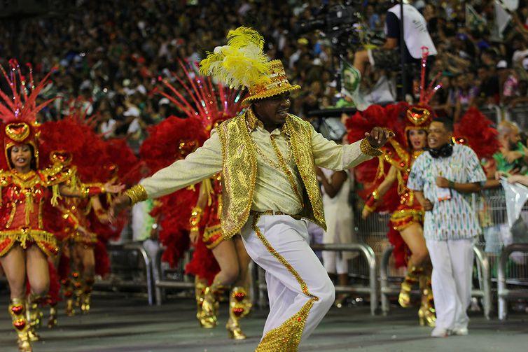 São Paulo - Desfile da Mancha Verde durante o primeiro dia do carnaval paulista (Divulgação/LigaSP)