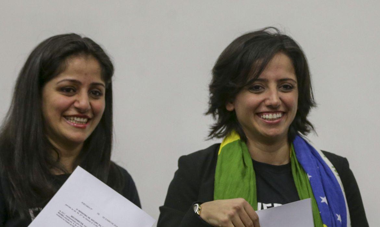 Governo concede a nacionalidade brasileira a duas apátridas. As beneficiadas foram as irmãs Souad e Maha Mamo.