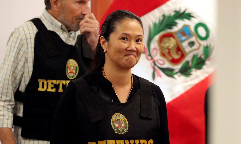 Justiça peruana determina libertação de Keiko Fujimori
