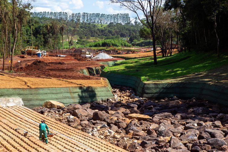 A cidade de Brumadinho ainda se recupera um ano após a tragédia