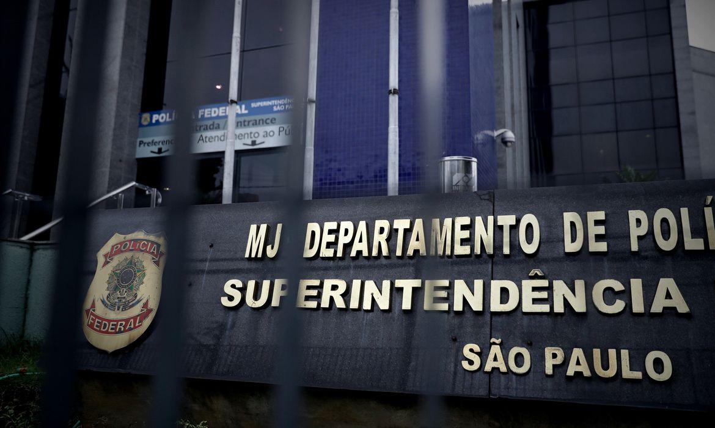 Sede da Polícia Federal em São Paulo