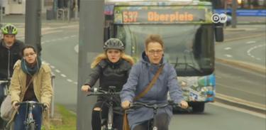 Cidade alemã quer se tornar a capital das bicicletas
