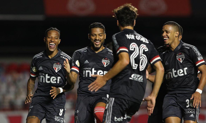 Brasileirão 2020 SPFC x Botafogo Data  09/12//2020 Foto: Rubens Chiri/saopaulofc.net