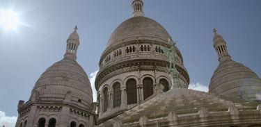 Basílica do Sagrado Coração fica em Paris, na França