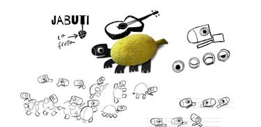 O Jabuti e a Fruta