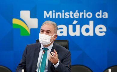 Reunião do Ministro da Saúde,Marcelo Queiroga,com os Secretários do Ministério da saúde .Brasília, 13.09.2021. Fotos: Walterson Rosa/MS