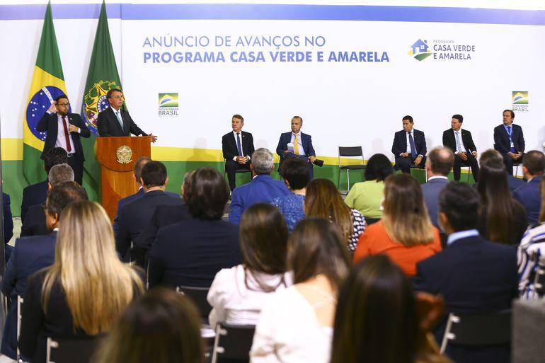 Governo anuncia avanços no programa federal de habitação, o Casa Verde e Amarela.