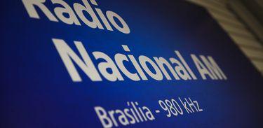Radio Nacional - placa