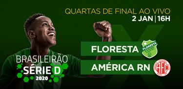 Floresta (CE) x América (RN) disputam as quartas de final da Série D