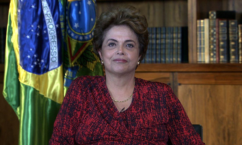Presidenta afastada Dilma Rousseff
