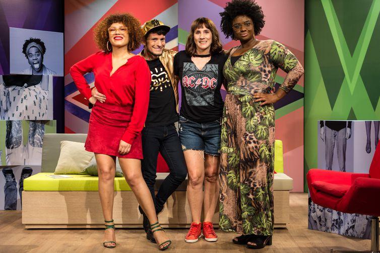 Mel Gonçalves, Fefito, Nicole Puzzi e Ellen Oléria