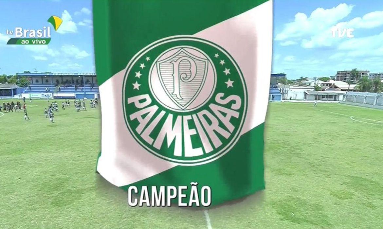 bicampeonato do Palmeiras na Copa Santiago de Futebol Juvenil