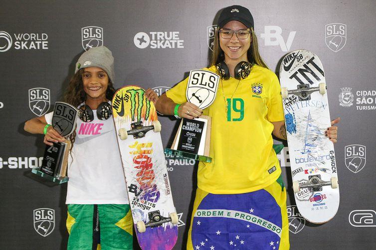Skate, Pamela Rosa , Rayssa Leal