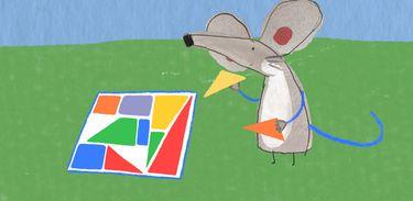 A série mostra a arte do menino autista Pablo
