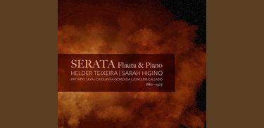 Capa do Álbum Serata - de Sarah e Helder