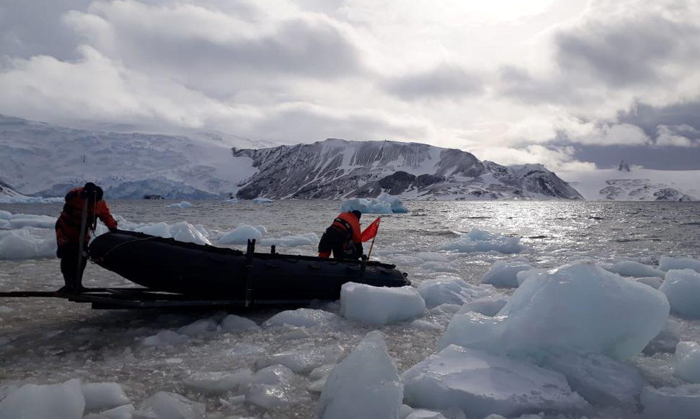Missão brasileira na Antártica