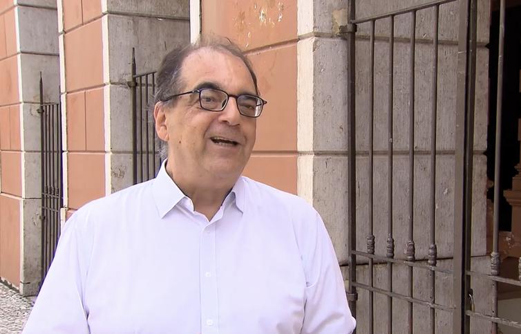 Tito Barata, jornalista e filho do poeta paraense Ruy Barata