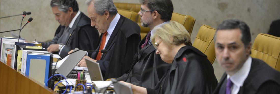 Quinta sessão de julgamento de recursos do mensalão no STF