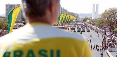 Brasília - Desfile cívico e militar de 7 de setembro na Esplanada dos Ministérios