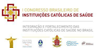 Cartaz do Congresso Brasileiro de Instituições Católicas de Saúde