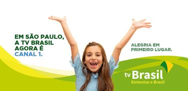 TV Brasil em São Paulo muda para o canal 1 da tevê aberta