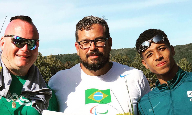 Alessandro da Silva, MIchel Gustavo - medalhas Torneio Paralímpico Freital, na Alemanha